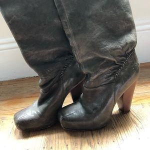 Frye Marta Boots- women's size 7, Gray